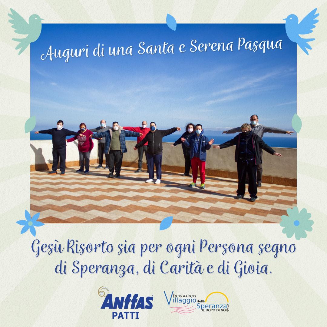 Auguri di una Santa e Serena Pasqua Fondazione Villaggio della Speranza Onlus